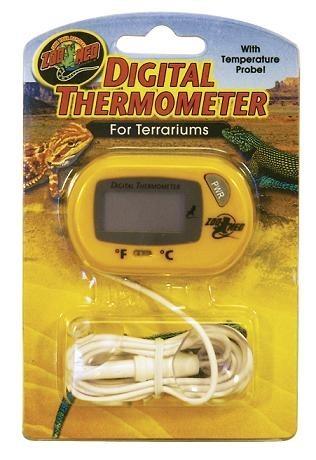 Zoomed termometro digital