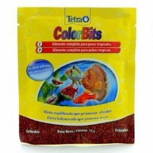 Tetra Color Bits Tropical Granules Sache 15 g