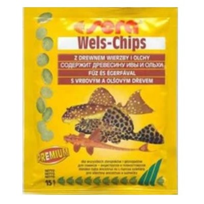 Sera Wels-Chips Envelope 15g